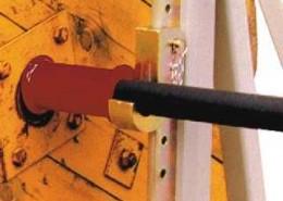 Cable Drum Jack Closeup