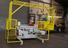 Autoreel Cable Winding Machine PLW With Guard Up