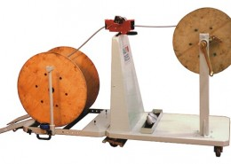 Autoreel Hand Winder cable winding machine HW100A In Operation