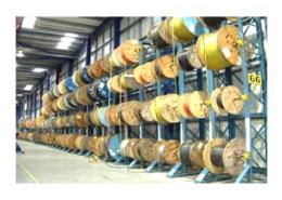LR Live Racking Autoreel Cable Winding Machine