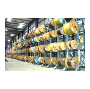 LR Live Racking Autoreel Cable Winding Machine